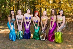 The little mermaids